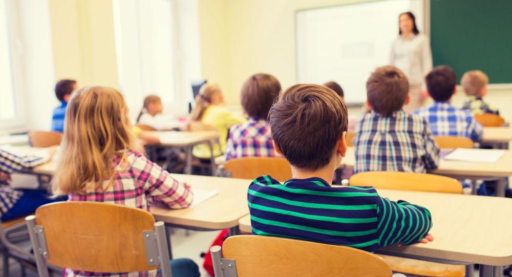 Uczniowie w klasie
