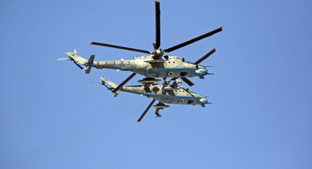 Helikoptery sił zbrojnych Afganistanu