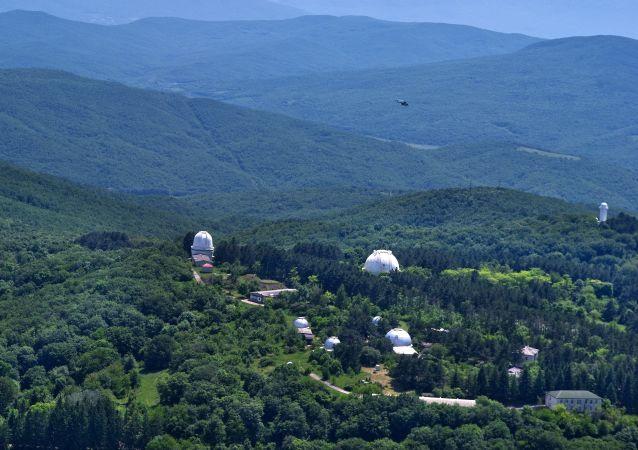 Panorama Krymu z lotu ptaka