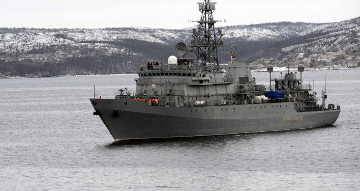 Duży okręt zwiadowczy Jurij Iwanow