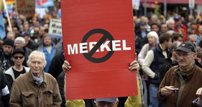 Niemcy przeciwko Merkel