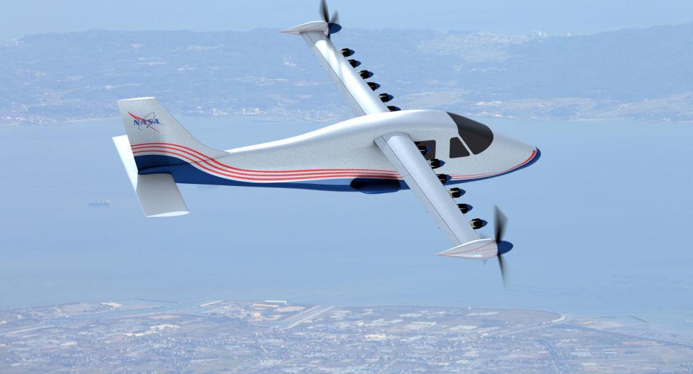 Prototyp elektrycznego samolotu X-57 Maxwell