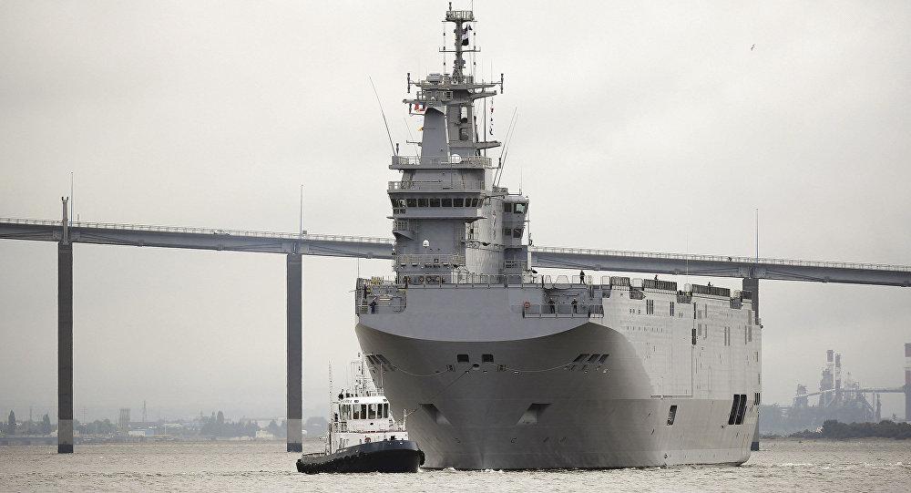 "Okręt desantowy typu Mistral ""Gamal Abdel Naser"""