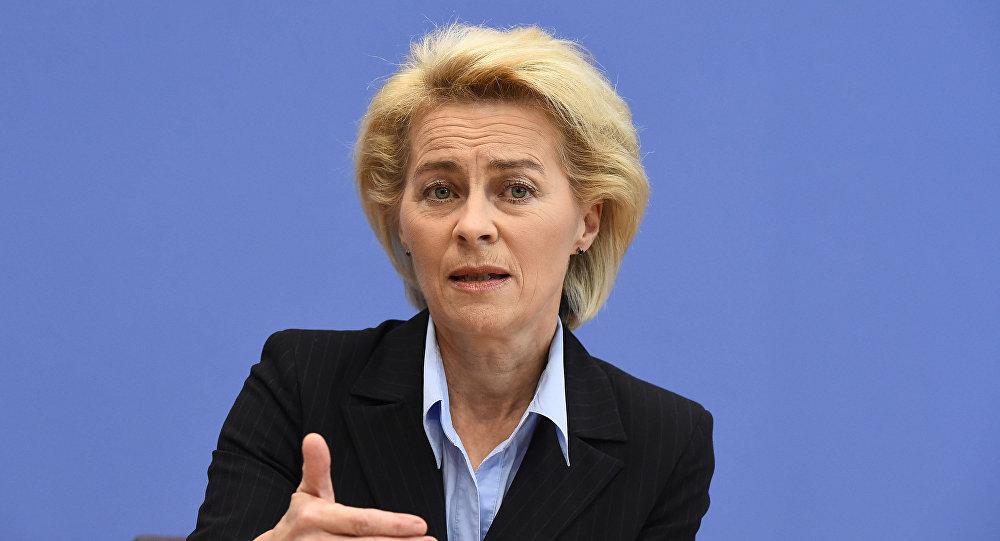 Niemiecka minister obrony Ursula von der Leyen