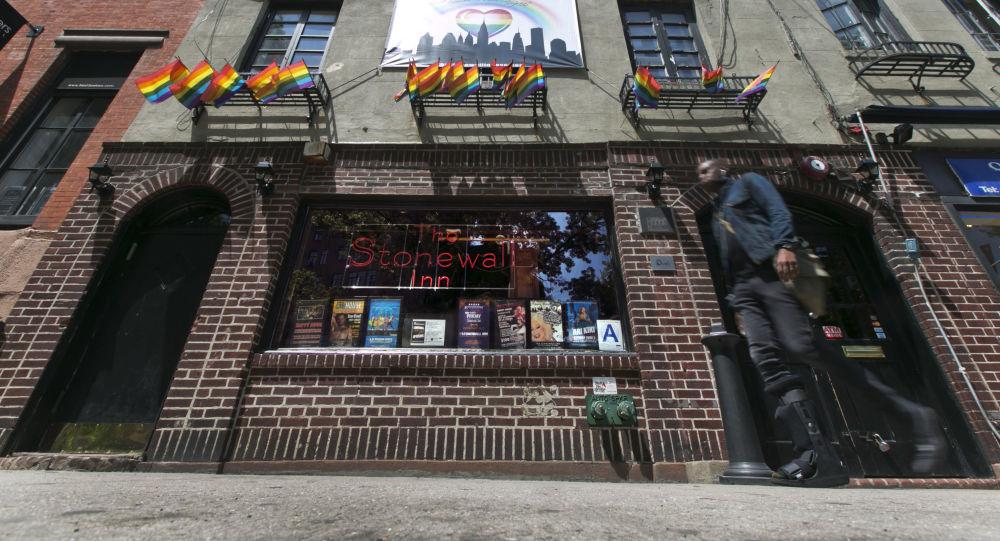 Klub gejowski The Stonewall Inn na Manhattanie