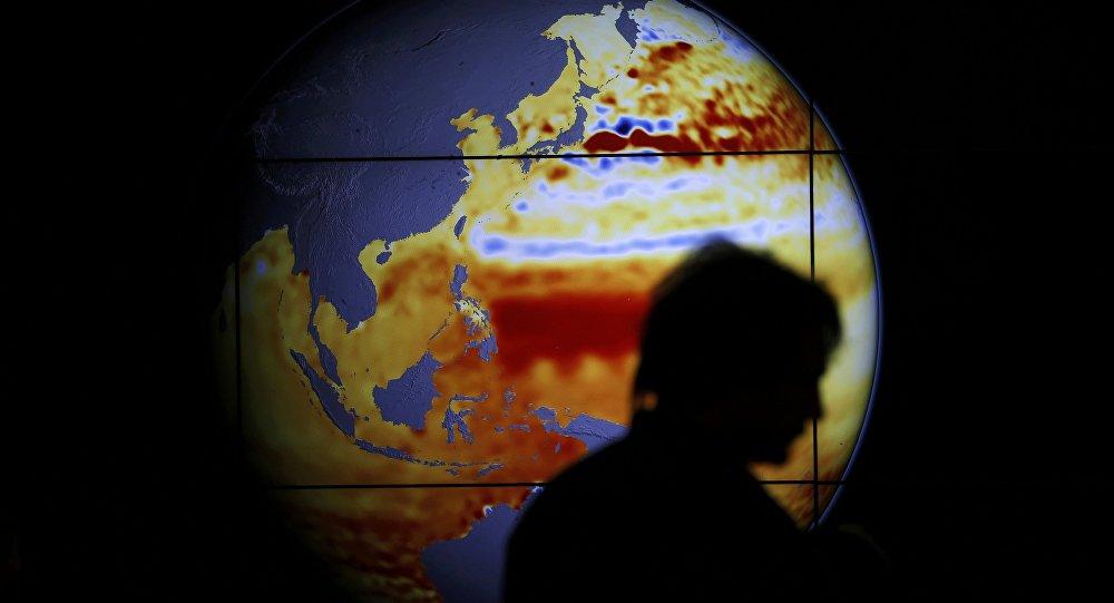 Klimatyczna mapa świata