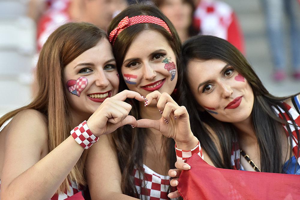 Kibicki reprezentacji Chorwacji na Euro 2016