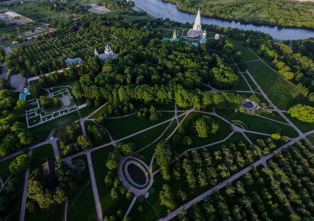Dawna rezydencja wielkich książąt moskiewskich, a następnie carów w Kołomienskoje