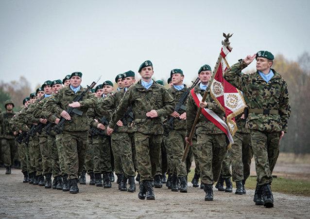 Polscy żołnierze w składzie sił szybkiego reagowania NATO