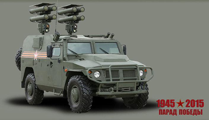 """Przeciwpancerny system rakietowy """"Kornet-D"""