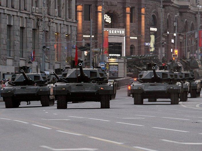 Czołgi T-14 Armata
