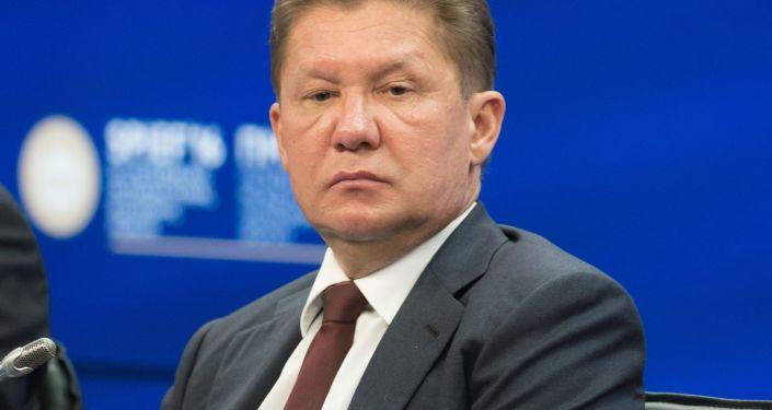 Prezes zarządu Gazpromu Aleksiej Miller.