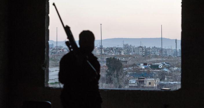 Sytuacja w syryjskim Damaszku.