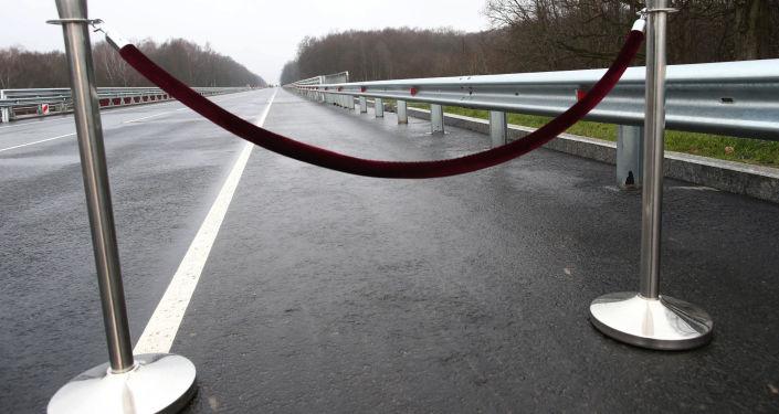 Most na trasie Kaliningrad - Mamonowo - granica Polski