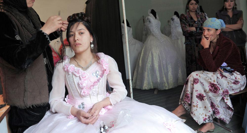 Salon ślubny w Tadżykistanie