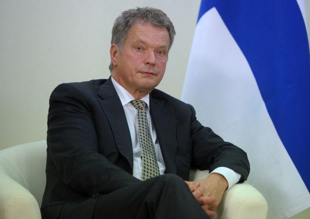 Prezydent Finlandii Sauli Niinistö