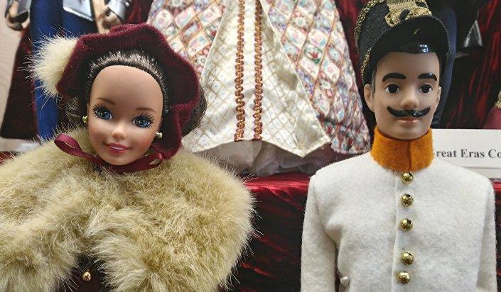 Barbie w strojach Austro-Węgier