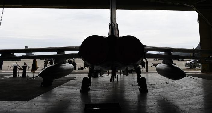 Samolot Tornado niemieckich sił lotniczych w bazie lotniczej Incirlik w Turcji