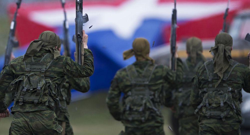 Rosyjscy wojskowi w Alabinie