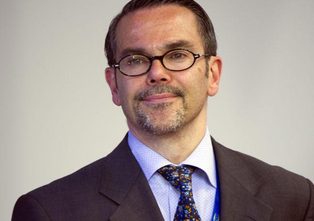 Rzecznik MSZ Francji Romain Nadal