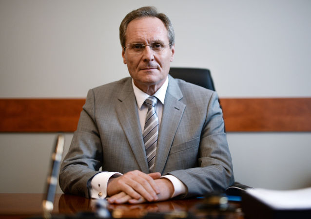Ambasador Mołdawii w Rosji Dumitru Braghiș