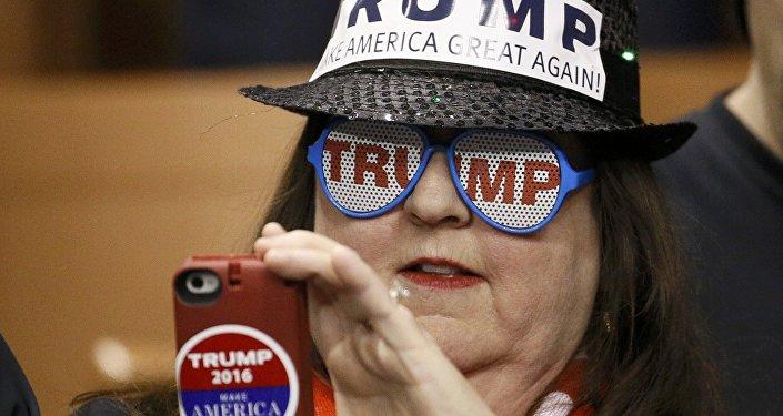 Zwolenniczka Trumpa