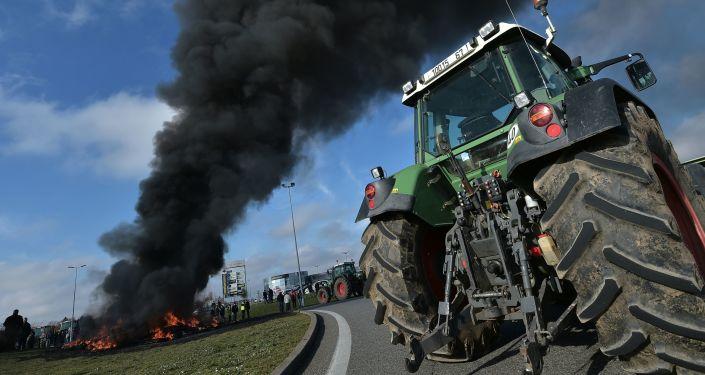 Protest francuskich rolników