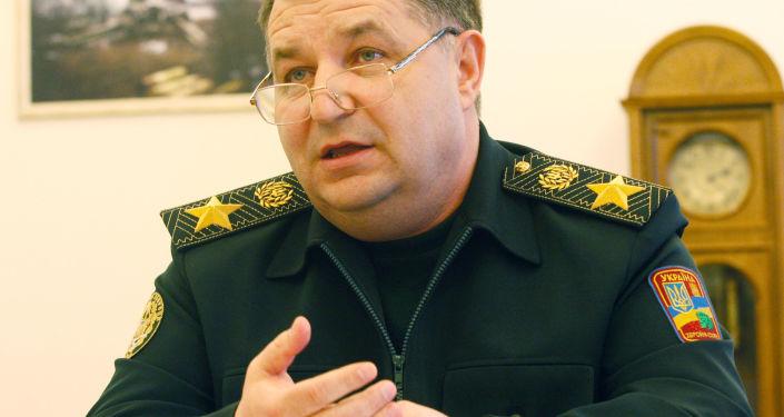 Minister obrony Ukrainy Stepan Połtorak