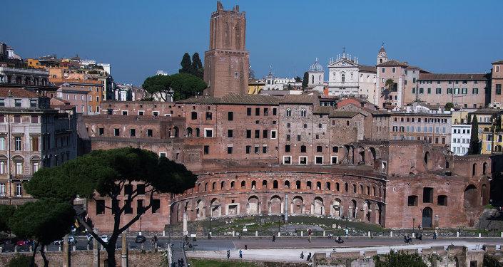 Panorama Rzymu.