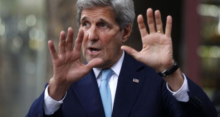Zmerykański sekretarz stanu John Kerry