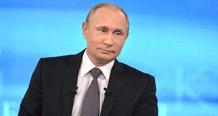 Linia specjalna z prezydentem Rosji Władimirem Putinem
