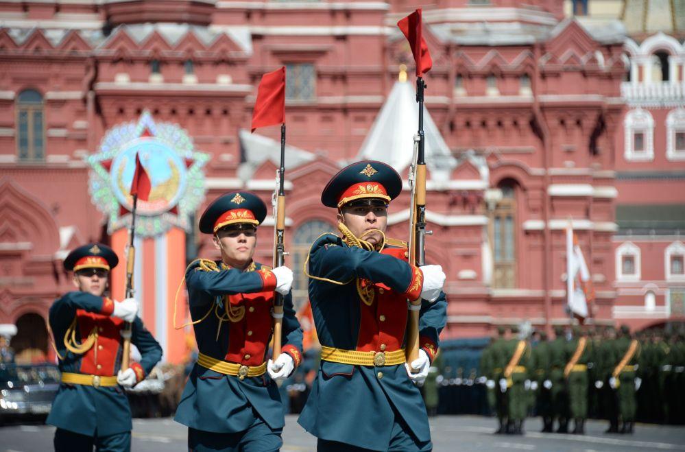 Próba generalna Parady Zwycięstwa na Placu Czerwonym