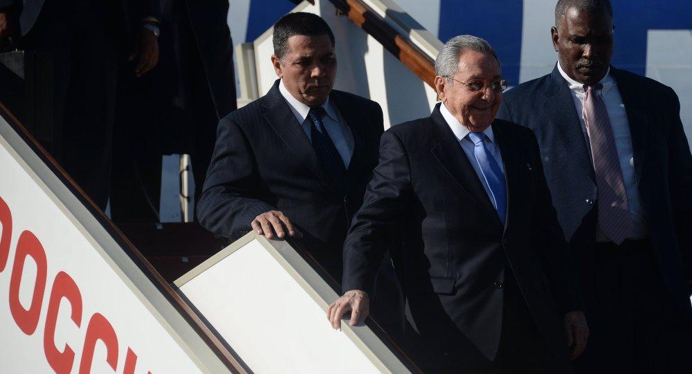 Wizyta prezydenta Kuby Raula Castro w Moskwie