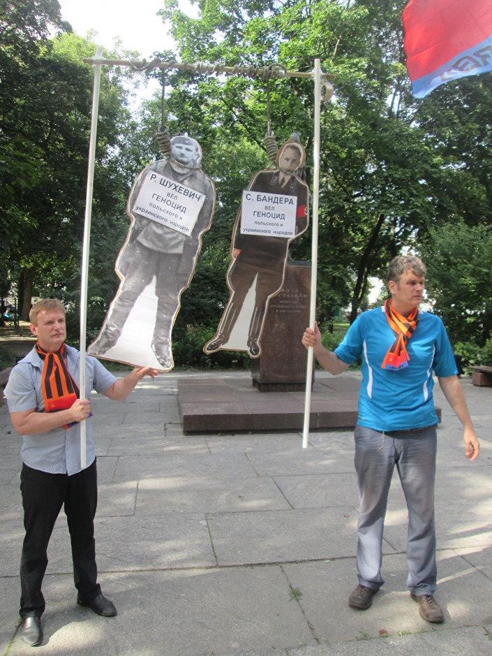Marsz i Apel Wołyński jednocześnie w Moskwie i Warszawie