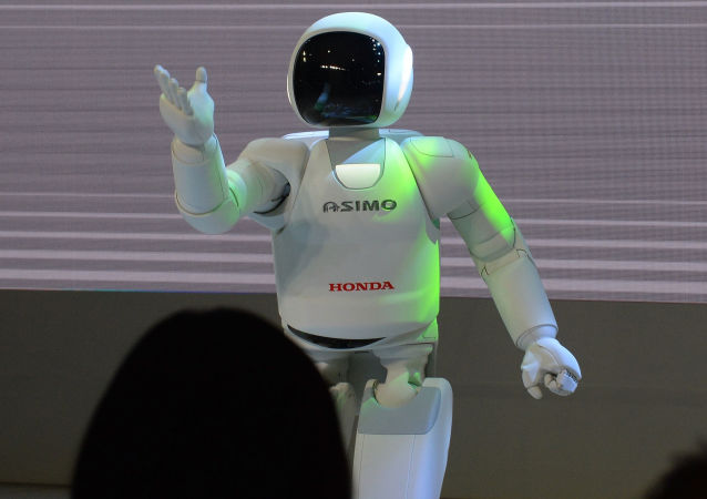 Robot Asimo koncernu Honda