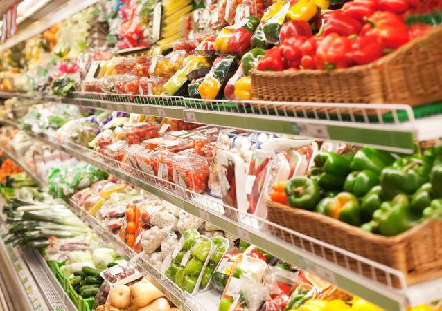 Warzywa w sklepie