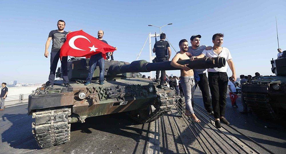 Próba puczu w Turcji