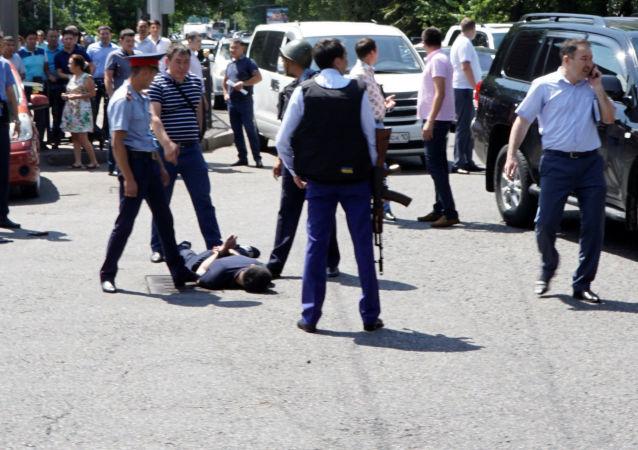 Zamach w Kazachstanie.