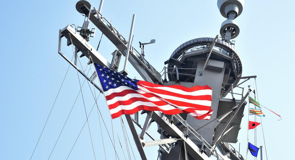 Niszczyciel USS Donald Cook podczas ćwiczeń Sea Breeze 2015
