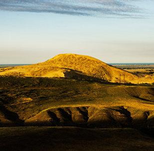 Dagestan. Park Narodowy Sarykumskie Barchany