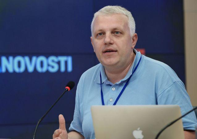 Dziennikarz Paweł Szeremet