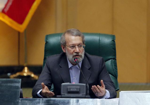 Rzecznik irańskiego parlamentu Ali Larijani
