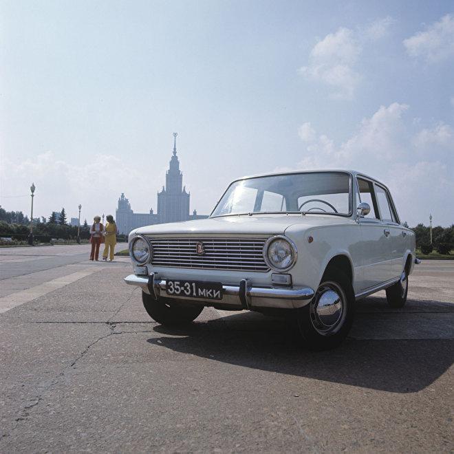 Samochód WAZ 2101.