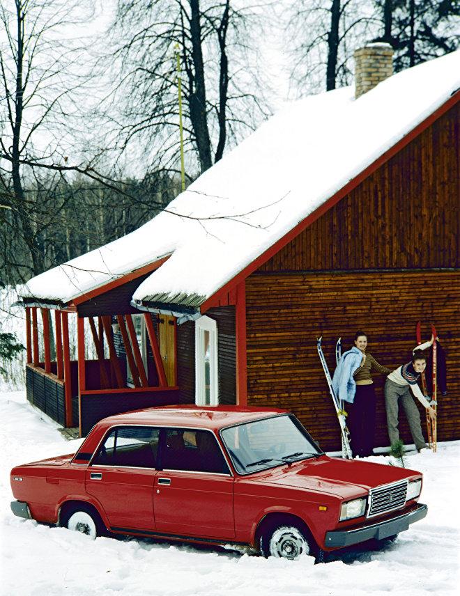 Samochód Żiguli-2107.