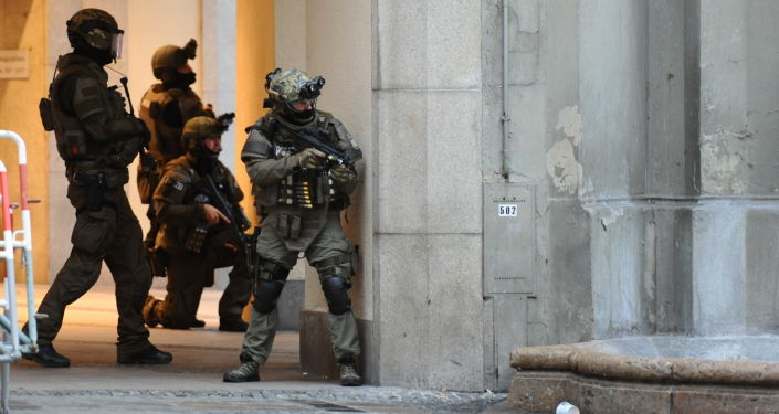 Strzelanina w Monachium.