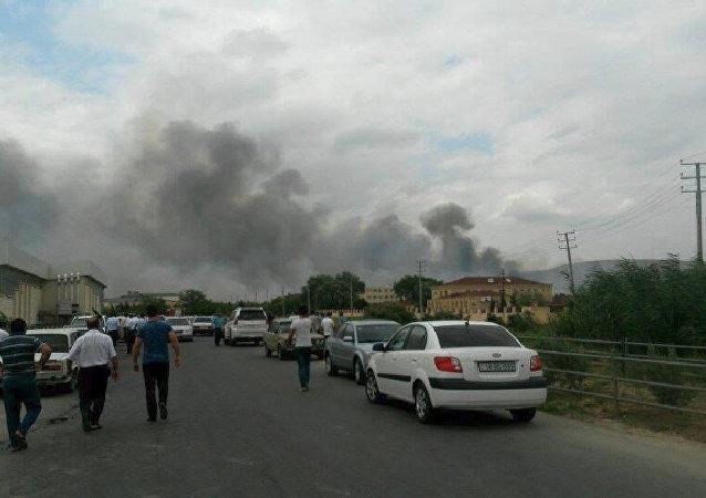 Wybuch w fabryce broni w Azerbejdżanie.