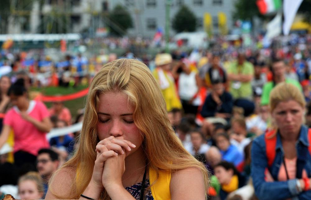Światowe Dni Młodzieży 2016 w Krakowie, dzień pierwszy