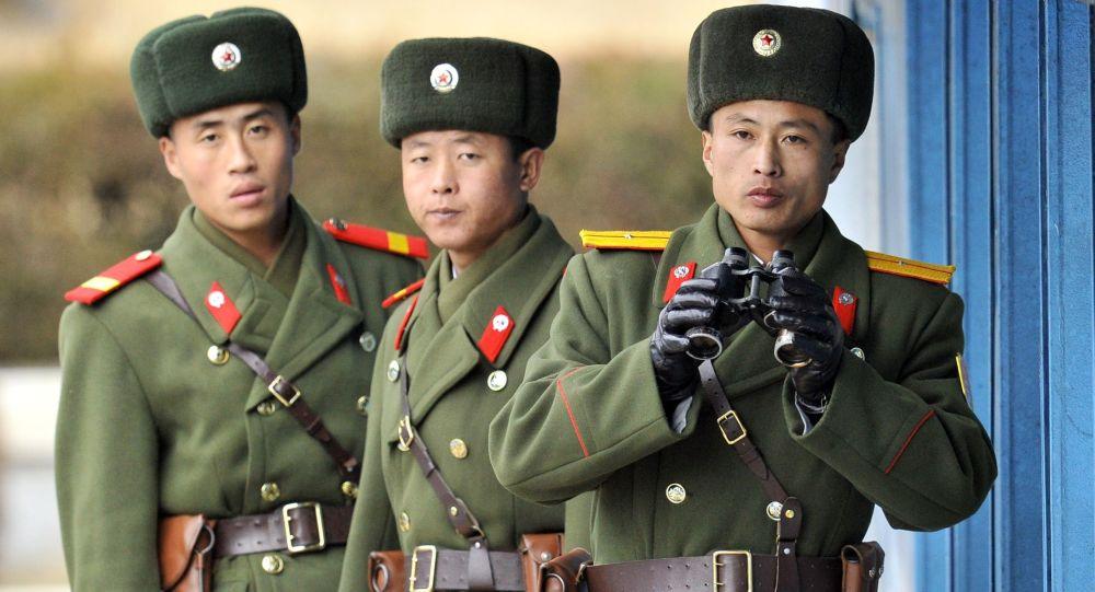 Północnokoreańscy żołnierze