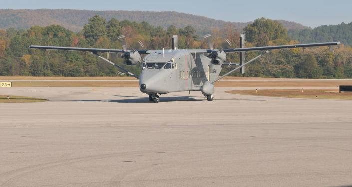 Amerykański samolot wojskowo-transportowy Sherpa C-23B+