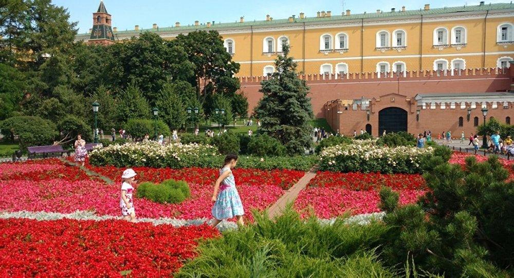 Dzieci pod Kremlem.